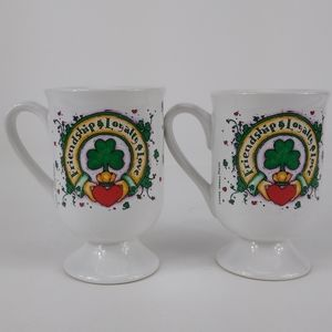 Pair Irish friendship mugs Abbey Press